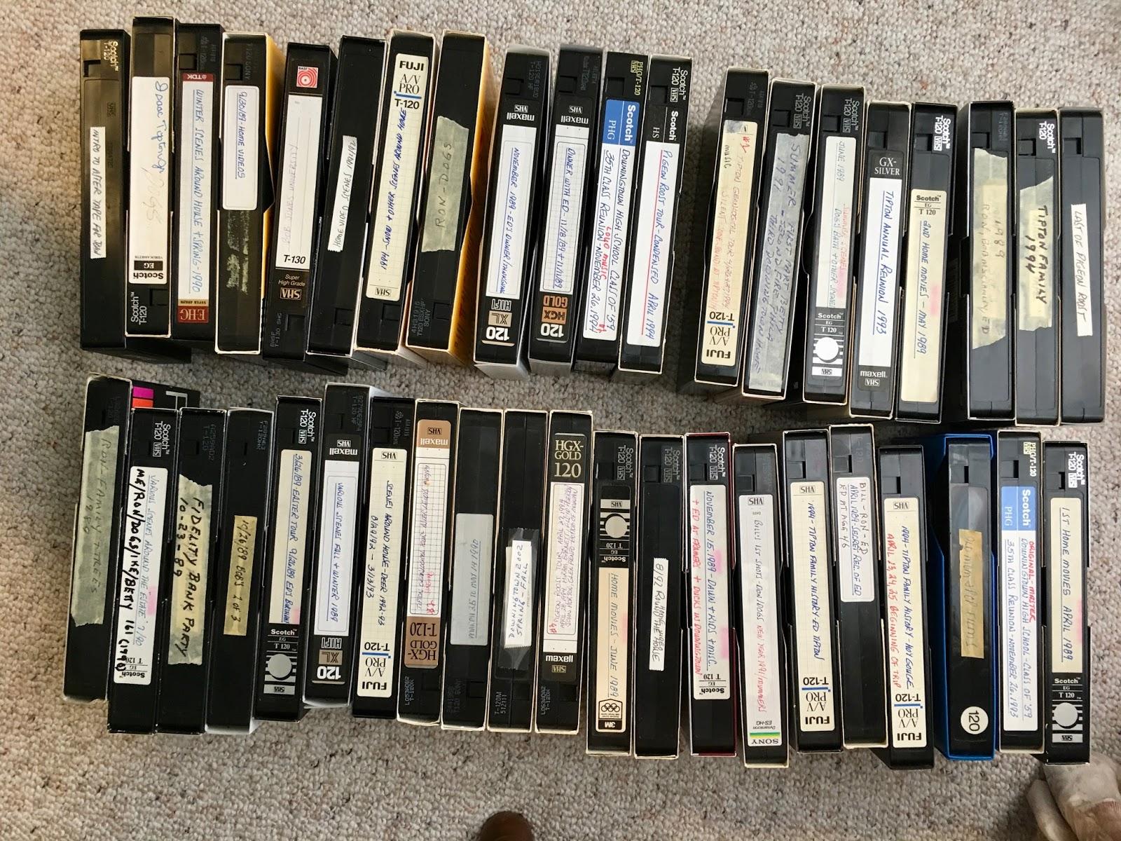 Ce qu'il faut retenir du transfert des cassettes VHS vers un DVD